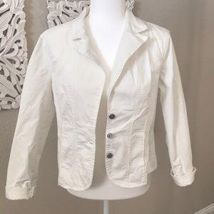 Light white jacket